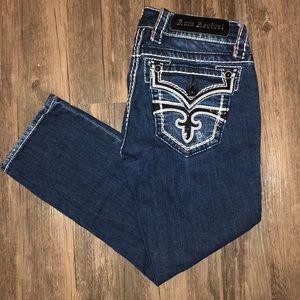 Rock Revival Celine Capri Jeans Size 27 VGUC